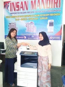 Pembelian Mesin Fuji Xerox AP5070 oleh ibu Sianipar utk Copy Dokumen di Gereja HKBP Binjai