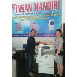Pembelian Mesin Fuji xerox DC286 utk Kantor Notaris Linawati di Cemara Medan