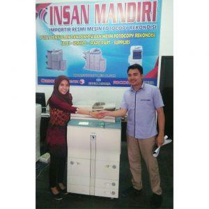 Pembelian Mesin iR5000 utk usaha Copy Centre di Kampus UINSU oleh Ramadani Lubis